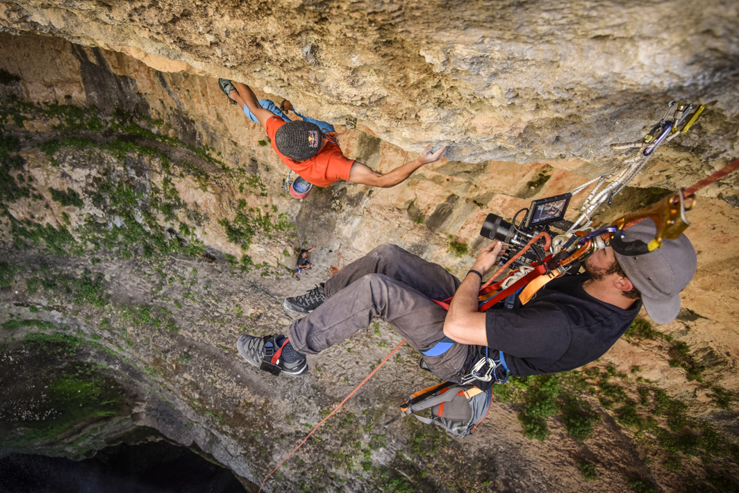 RedBull - LebanonDavid LamaBaatara Gorge Climb