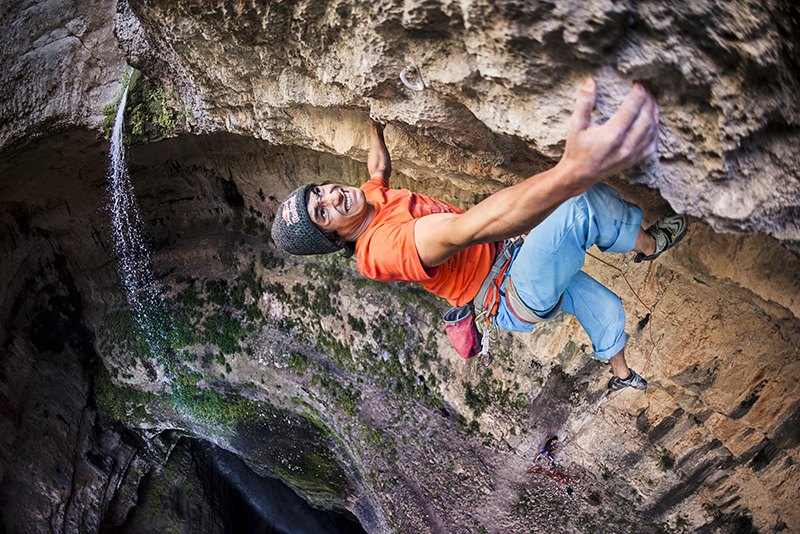 RedBull - Lebanon David Lama Baatara Gorge Climb David Lama, on his first ascent of Avataara (5.14d). In addition to being an art and a sport, climbing is also a lifestyle--one that takes you on crazy adventures to far-flung locations such as the Bataara Gorge, in northern Lebanon.