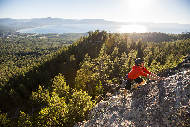 Rock Climbing Castle Rock