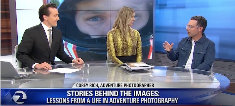 """News: """"The Perfect Shot"""" with KTVU TV"""