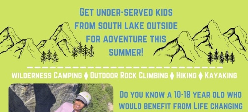 Introducing the South Lake Tahoe Outdoor Youth Adventure Program